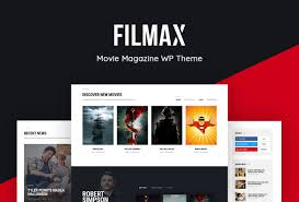 Wordpress Movie Theme Filmax Online Magazine Movie Reviews Wordpress Theme
