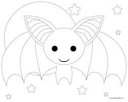 Halloween Disegni Pipistrelli
