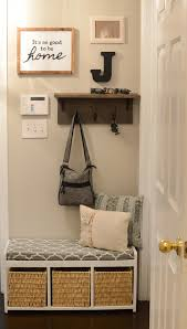 Coat Rack Shelf Diy Mudroom gallery wall DIY coat rack shelf 93