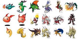 Digimon Armor Evolution Chart 76 Comprehensive Digimon Monsters Evolution Chart