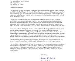 Resume Cover Letter Teacher Job New Teaching For Astonishing