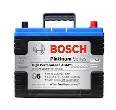 Bosch S6508b S6 Flat Plate Agm Battery Car Batteries Car Battery Bosch