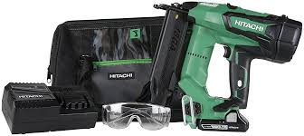 hitachi g12sr4. hitachi nt1850de 18-volt cordless lithium ion brushless 18 gauge brad nailer with 1 battery g12sr4