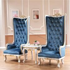 blue high back chair wooden high back chair with blue blue high back patio chair cushions