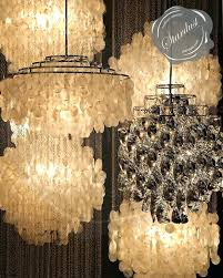 large capiz chandelier large shell chandelier large shell chandelier large rectangle hanging capiz pendant gray