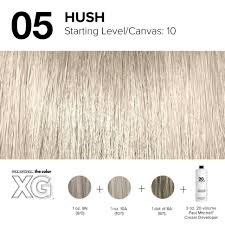 Paul Mitchell Hair Colour Chart Color Xg Formula Created By Paul Mitchell Hair And Makeup