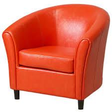 amazoncom best selling napoli orange leather club chair kitchen