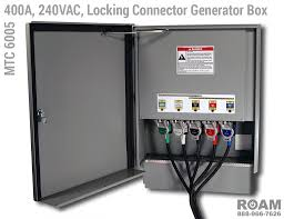 mtc 6005 three phase in line locking posi lok connector generator