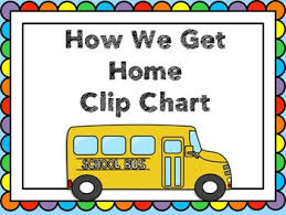 How We Get Home Chart How We Get Home Clip Chart