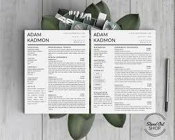 professional modern resume designs adam kadmon resume template