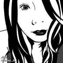 かっこいい イラスト 女の子 白黒の画像46点完全無料画像検索のプリ