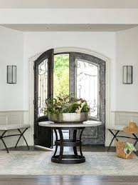 corner foyer table. Traditional Round Entry Table Small Foyer Regarding Attractive Home Designs . Corner