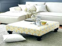 fabric ottoman coffee table australia oversized fabulous cloth t