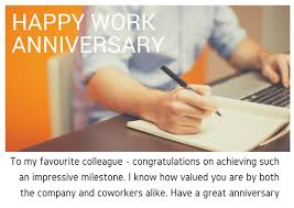 Below we have collected some of the work anniversary wishes and quotes to wish an employee and make him realize that he/she is a strong player and holds a special place in the company. Work Anniversary Quotes And Wishes Someone Sent You A Greeting