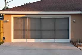sliding garage doorsdoor  Sliding Garage Door Screen Exuberance Two Car Garage Screen