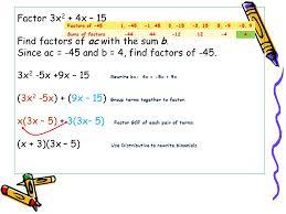 39 factor 3x2