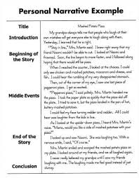 narrative essay starters introduction writing narrative essay slideshare