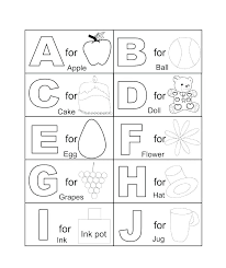 Alphabet Coloring Pages For Kids Alphabet Coloring Pages A Z Also