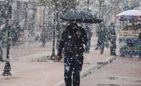 Bugün hava durumu, İstanbul kar yağışı 6 Aralık Çarşamba Meteoroloji