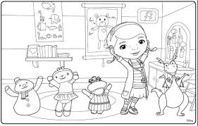 Small Picture disney jr coloring pages doc mcstuffins disney junior coloring