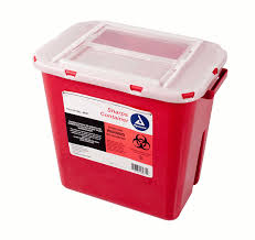 sharps container. sharps container