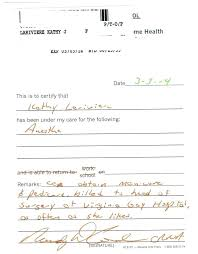 Fake Doctors Note Va Excuse Template Maker Cone Appinstructor Co