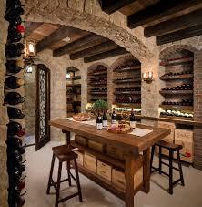 Home Basement Bars Home Bar Room Designs Wine Cellars Tasting Room And Stone Walls