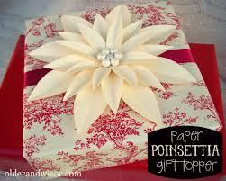 Papierblume Geschenke Weihnachtsschilder Und Blumen Basteln