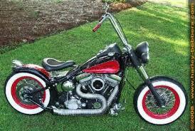 1989 harley softail custom bobber motorcycle