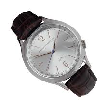 fc1195t french connection analog leather quartz dress mens watch