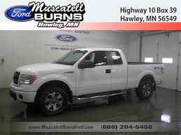 ford trucks 2014 white. Simple 2014 Used 2014 Ford F150 4X4 Supercab Truck In Hawley MN Inside Trucks White E
