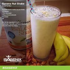wake up and blend this creamy banana nut whey protein shake recipe