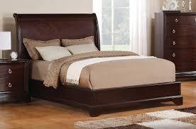 King Bed Bedroom Set Noah 5 Piece King Bedroom Set Dark Cherry Leons