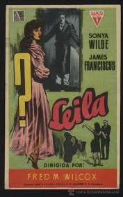 p-2517- leila (sonya wilde - james franciscus) - Buy Drama at todocoleccion  - 27864753
