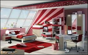 bedroom ideas for teenage girls red. Unique Bedroom Teenage Girls Room Idea View In Gallery Red Inside Bedroom Ideas For Teenage Girls E