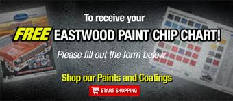 Eastwood Color Chart Signup For A Paint Chip Chart
