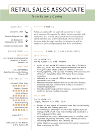 Exceptional Resume Examples Retail Sales Associate Resume Sample Writing Tips Resume