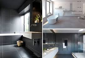 bathroom tile idea use large tiles on the floor and walls 18 pictures
