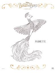 Small Picture Plumette Coloring Page Celebrate the tale as old time with free