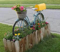 cool mailbox designs.  Mailbox Go For A Ride With This Bicycle Mailbox In Cool Designs