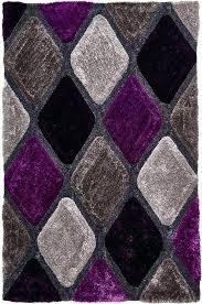 green and purple rug handmade fl wool blue