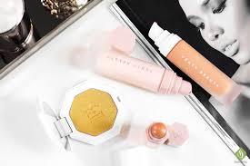 fenty beauty foundation primer concealer highlighter