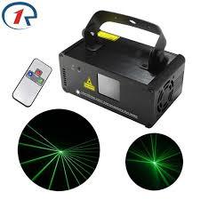 <b>ZjRight IR Remote</b> DMX512 Professional 50mw Green Laser Stage ...