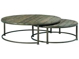 nest coffee tables round nesting coffee table modern round nesting coffee tables table luxury marvelous metal