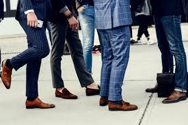cách chon giày nam phù hợp với trang phục
