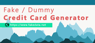 Making number patterns in this generator uses codes that are also applied through mathematical formulas. Fake Dummy Credit Card Number Generator Fakedata Net