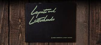 Letterheads Layouts Layouts And Letterheads Paul Carlyle Guy Oring 1938
