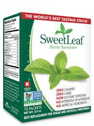 Stevia Conversion Chart Sweetleaf Stevia Sweetener