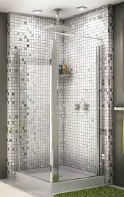 Glass For Bathroom 27 Nice Pictures Of Bathroom Glass Tile Accent Ideas