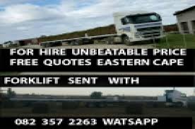 Truck Quotes Awesome Trucks For Rent In Eastern Cape Junk Mail